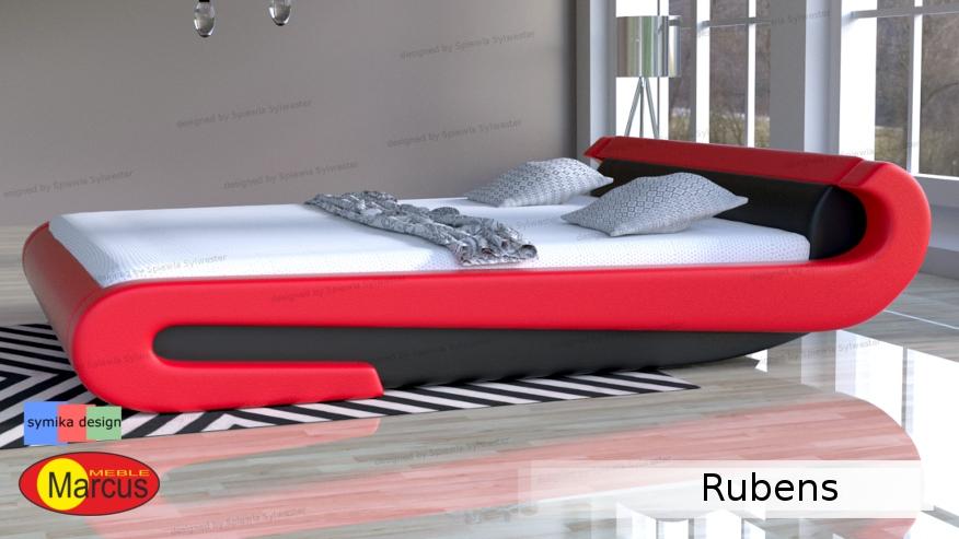 Nowoczesne łóżko Rubens 200x220