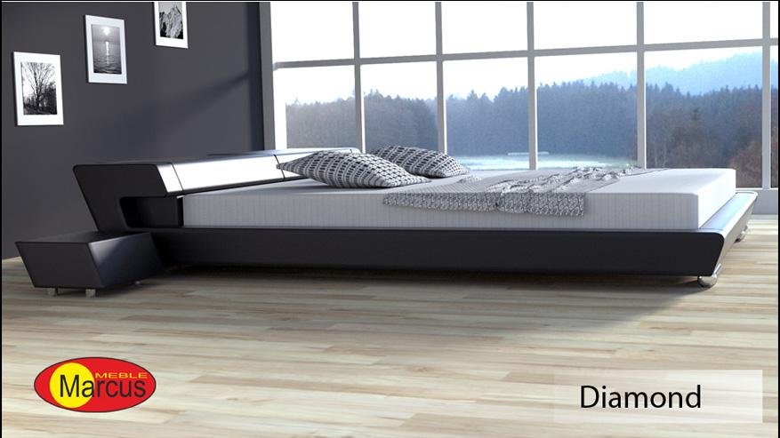 łóżko Diamond 200x200